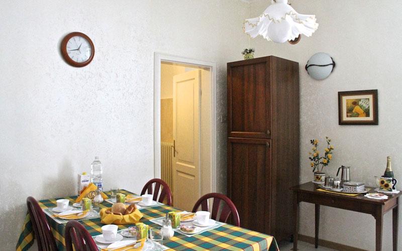 Trieste Bed & Breakfast Frühstück